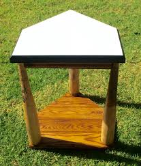 Home Plate Baseball Home Plate Side Table Made With Broken Baseball Bats For A Great