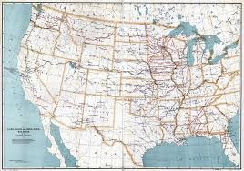 Large United States Map by Large Scale Detailed Old Map Of Land Grant And Bond Aided