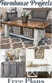 3 easy farmhouse diy projects table console home décor free