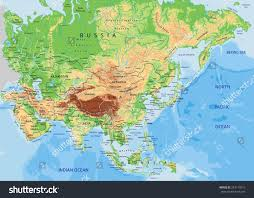 Map Of Southwest Asia by Terrain Map Of Asia You Can See A Map Of Many Places On The List
