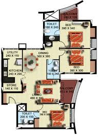 1575 sq ft 3 bhk 3t apartment for sale in olive builders wood