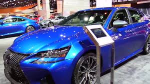 lexus gs f v10 2017 lexus gs f special blue edition features exterior and