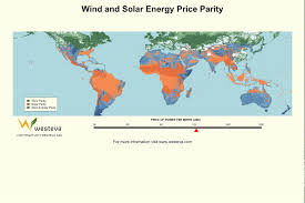 Global Wind Map Global Grid Parity Animation For Wind And Solar At Increasing