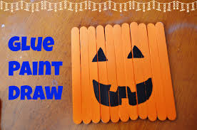 Halloween Crafts For Elementary Students by Halloween Decor Kid U0027s Popsicle Stick Crafts Surviving A