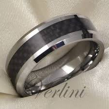 titanium wedding bands for men men s tungsten ring carbon fiber infinity wedding band titanium