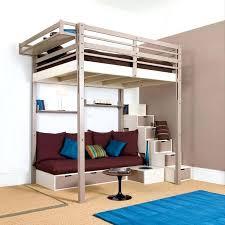 lit mezzanine avec bureau et rangement lit mezzanine avec escalier de rangement escalier avec rangements