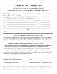 Special Power Of Attorney For Authorized Representative by New Patient Registration Lagrange Family Care Doctors