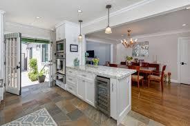 kitchen peninsula with ovens and wine cooler nott u0026 associates
