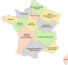 Burgundy France Map by French Regions Will Change Forever In 2016