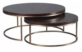 round nesting coffee table lovely round nesting coffee table with best tables on industrial