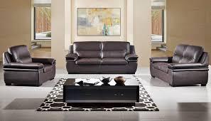 leather livingroom set panda top grain leather sofa set