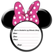 minnie mouse invitations free editable minnie mouse birthday invitations minnie mouse sba