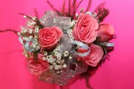 pink corsage prom corsage pink smiley s town country