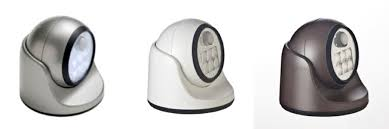 new led auto motion sensor detector outdoor porch light silver