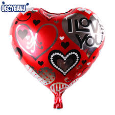 valentines day balloons wholesale qgqygavj 18 inch aluminum foil balloon party s day heart