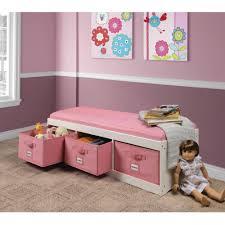 storage bench with drawers and baskets under workbench storage