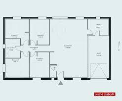 plan maison plain pied en l 4 chambres plan de maison de plain pied plan maison plain pied 4 chambres