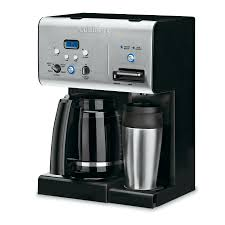Coffee Maker With Grinder And Thermal Carafe Shop Cuisinart 12 Cup Black Programmable Coffee Maker At Lowes Com