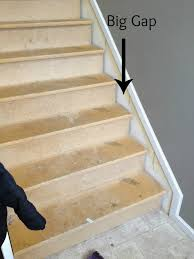 Laminate Flooring Skirting Board Trim The Serene Swede From Carpet To Hardwood Stairs