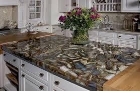 interior flower vase design on quartz countertops vs granite