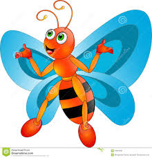 butterfly cartoon royalty free stock photos image 34619698