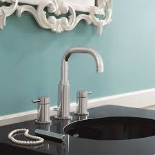 Bathroom Sinks And Faucets by Serin Widespread Faucet High Arc American Standard