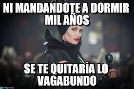 Maleficent Meme - ni mandandote a dormir mil a祓os maleficent meme en memegen