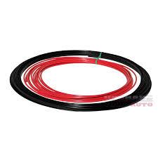 nissan juke body kit australia wheel bands red in black pinstripe rim edge trim for nissan juke