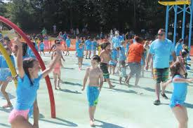 photos fuquay varina opens new splash pad at south park news