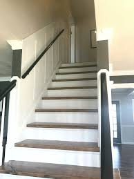 How To Put Rug On Stairs by How To Make Wood Stairs Treads For Cheap Simply Swider