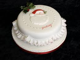 Christmas Cake Frills Decorations by Christmas Cakes Donna Jane Cakes