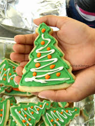 nitha kitchen christmas sugar cookies with royal icing recipe