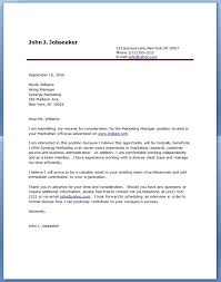 examples of a cover letter for a resume ideas collection sample