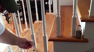 How To Install Stair Banister Changing Your Wood Balusters To Wrought Iron On Your Fancy