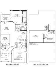 2 story house floor plan ahscgs com plans with loft design ideas