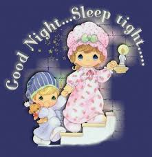 good night sleep tight kids staring hold candle image images