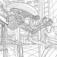 alien coloring book pages available for download avpgalaxy