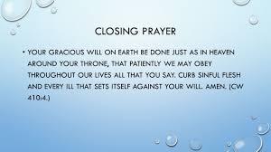 the prayer ppt
