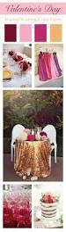 valentine u0027s day inspired wedding color palette linentablecloth