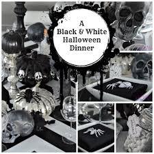 an elegant halloween dinner party holiday halloween