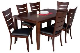 dining room table solid wood red barrel studio haan 7 piece solid wood dining set u0026 reviews