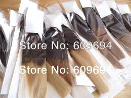 online buy wholesale two tone remy keratin hair extension from