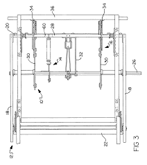 Swivel Rocking Chair Parts Patent Us6988769 Spring Toggle Furniture Mechanism Google Patents