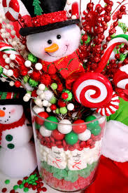 christmas candy centerpiece two sisters crafting
