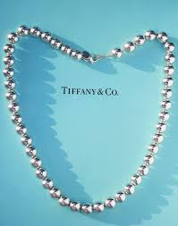 silver bead necklace tiffany images Tiffany sterling silver 10mm ball necklace 18 inches length etsy jpg