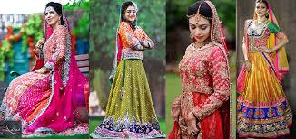 indian pakistani ghagra lehenga choli designs collection 2017 2018