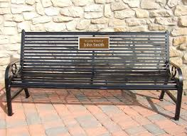 Park Benches For Sale 5 Foot Broadway Memorial Park Bench Occ Outdoors