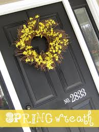 spring wreaths for your front door simply kierste design co