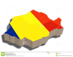 Map Of Romania 3d Map Of Romania Royalty Free Stock Photography Image 7722357