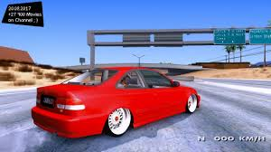 future honda civic honda civic 1998 new enb top speed test gta mod future youtube